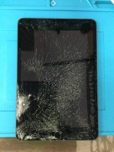 iPadガラス修理画像